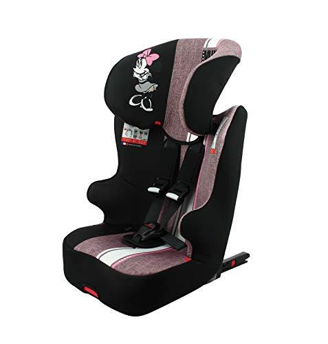 Silla de coche para Bebe isofix RACER grupo 1/2/3 (9-36kg) avec assise - con proteccion lateral -Disney First Minnie