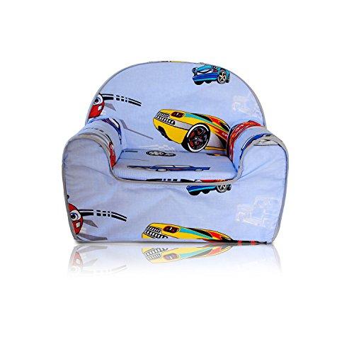 Kindersessel Kinder Sessel Kindersofa Kinder Sofa (01 Rennwagen)