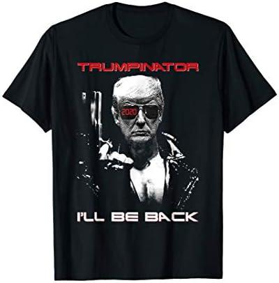 Donald Trump 2020 Trumpinator I ll Be Back Funny T Shirt product image