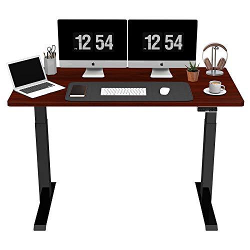 SANODESK EZ1 - Mesa de escritorio eléctrica regulable en altura con tablero...