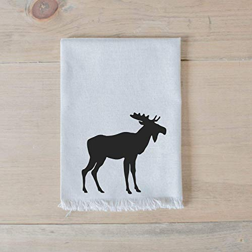 Moose Napkin Set, Handmade in the USA, home decor, housewarming gift, tableware, table, place setting, home decor, dinner party, place setting, table setting