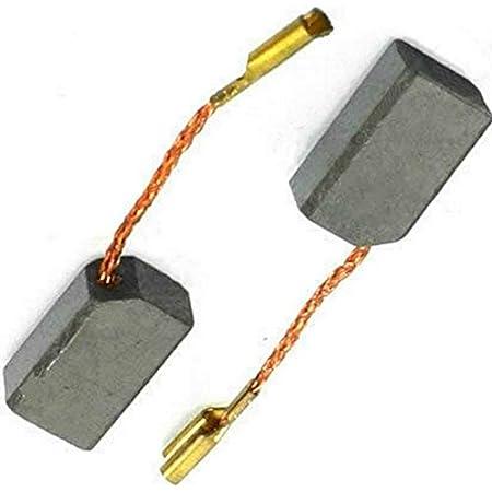 Reemplaza partes 1003868-00 cable y conector 930897-00 /& 939539-01 Escobillas de carb/ón Buildalot Specialty ca-07-38414 para DeWalt Amoladora DW811-6,3x8x13,5 mm 930151-00 Con resorte