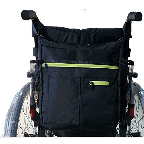 Rolstoel tas, rolstoel armsteun zakje Organizertas, Walker toegankelijk zakje en zakken voor unisex gehandicapte ouderen