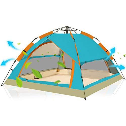 RongDuosi Comfortabele Automatische Tent Outdoor 3-4 Personen 2 Personen Dubbele Familie Camping Wild Strand Tent Vissen Winddicht Zonnebrandcrème UV Bescherming Outdoor Uitrusting Zwembed
