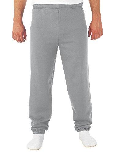 Jerzees mens 8 oz. 50/50 NuBlend Fleece Sweatpants(973)-OXFORD-2XL