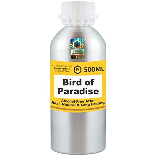Parag Fragrances Oiseau du Paradis Attar 500 ml Attar (Sans alcool, Attar longue durée pour hommes - Femmes et usage religieux) Worlds Best Attar | Itra | Huile parfumée | Parfum