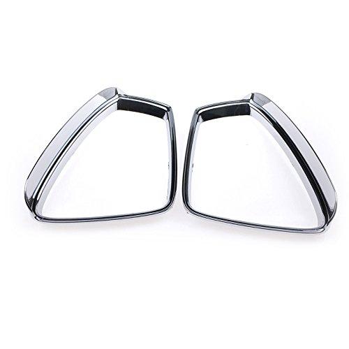 para Tiguan 2 / Tiguan 2 Allspace 2016-2020 Cromado Espejo retrovisor Lateral Espejo deflectores de Viento Plástico ABS 2 piezas