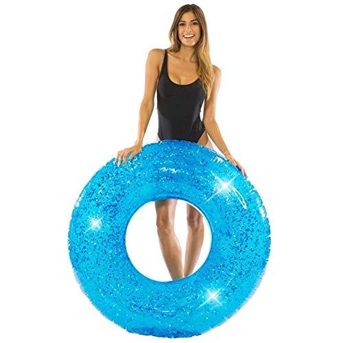 Xyl Anillo de natación Destello Azul de Gran tamaño para la Piscina o en la...
