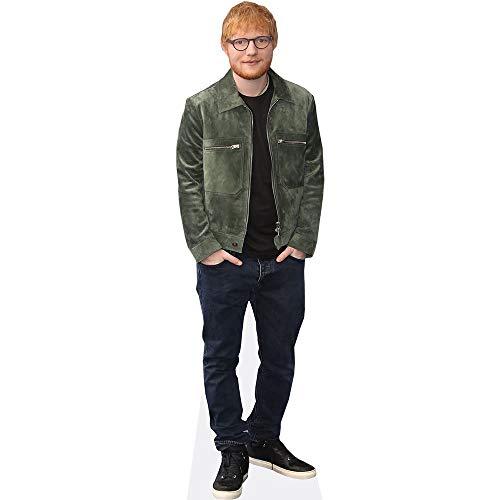 Celebrity Cutouts Ed Sheeran (Green Jacket) Pappaufsteller Mini