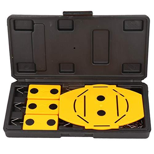 Marca ciega y marca central Recorte de panel de yeso Herramienta de localización y localizador de paneles de yeso y recortes de luz de lata empotrados para enchufes eléctricos existentes en