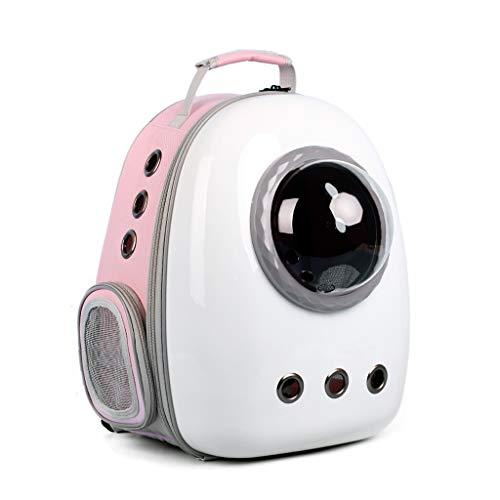 FQCD Haustier-Rucksack-wasserdichte Kapsel AstronautPet Katze Hund Träger Blase atmungsaktiv im Freien bewegliches