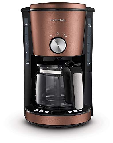 Morphy Richards Evoke 10 Cup Electric Filter Coffee Maker/Machine Bronze