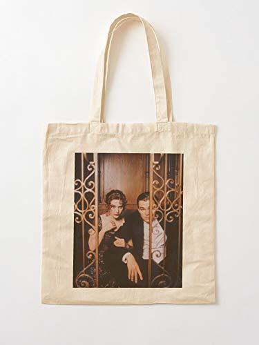 Générique Movie Period Winslet Dicaprio Leonardo Drama Vintage Leo Pinterest Kate Film | Bolsas de la compra de lona con asas de algodón duradero