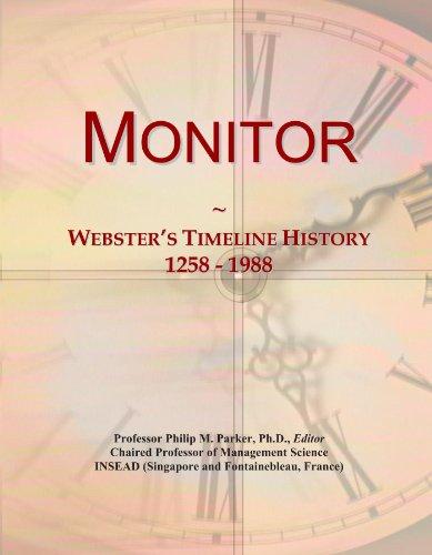 Monitor: Webster's Timeline History, 1258 - 1988