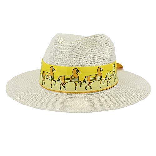 Weichunya Cinta ancha Edge sombrero de la playa al aire libre de...