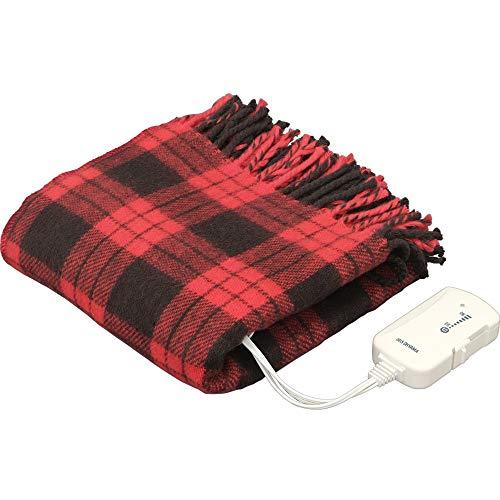 アイリスオーヤマ 電気毛布 ブランケット 室温センサー搭載 80×120cm EBK-1208-ZR