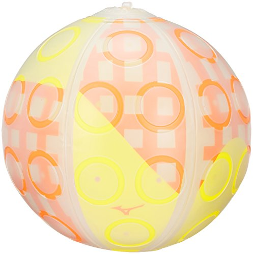 MIZUNO(ミズノ) キッズ レクリエーションスポーツ ディンプルボール K3JAK80200 イエロー×オレンジ