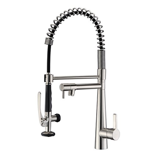 GICASA Heavy Duty Commercial Kitchen Faucet