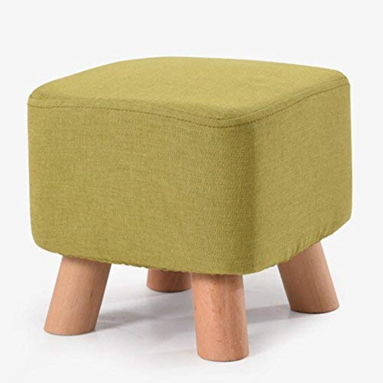 SBBD Chair-shoes shoes Fashion Square Stool Solid Wood Stool Sofa Stool Square Stool Square Pier 28  28  26Cm Home Convenient