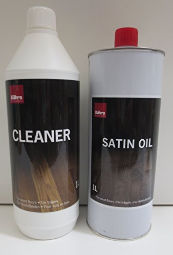 Kährs Spar-Set Satin Oil und Cleaner je 1000 ml