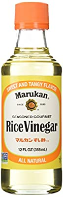Marukan Seasoned Gourmet Rice Vinegar 12 Ounce