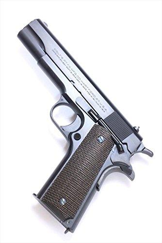 """六研/エラン ROCKEN/ELAN Famous Movie Gun Series""""DOC""""MODEL コルトM1911 ニュースタイル スライド マーキング DUOブローバック モデルガン"""