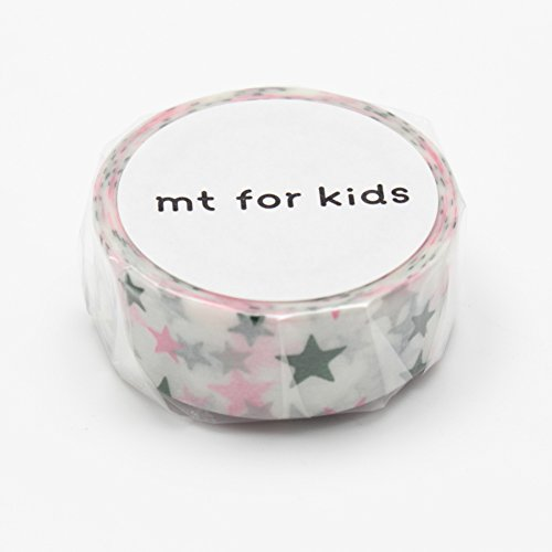MT Japanese Washi tape, Kids mini roll Stars (MT01KID006)