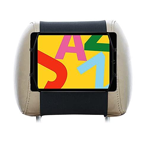 Soporte Tablet Coche reposacabezas Compatible con iPad 10.2 Mini iPad 7.9 Unico Soporte Que admite Tablets con Fundas