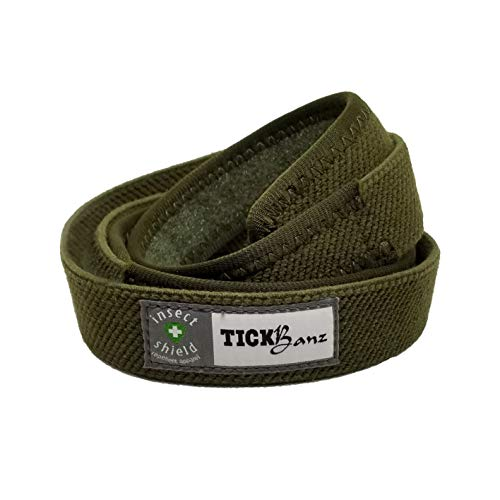 TickBanz Waist Band Tick and Chigger Repelling Adjustable One Size Fits All Belt
