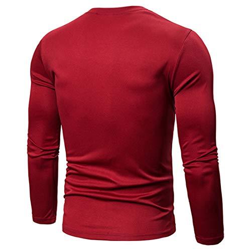 MENHG Men's Patchwork Contrast Colour Knit Shirt Jumper Pullover Blouse Sweatshirt Men Long Sleeve Crew Neck Slim Fit Casual Warm Corduroy Fleece Knitwear Gym Tennis Sports Tops Outwear Coat Sweater