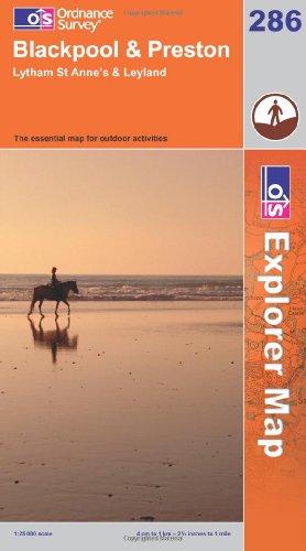 OS Explorer map 286 : Blackpool & Preston