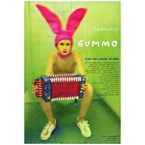 GUMMO Película japonesa Jacob Sewell Nick Sutton Lara Tosh POSTER Pintura de pared Decoración de arte Impresión en lienzo -50x75cm Sin marco