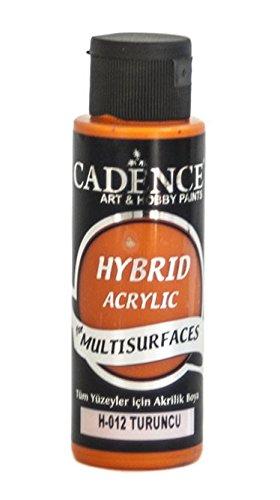 Pintura Acrílica Multisuperficie Hybrid Cadence Naranja Ref. H012