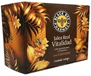 BLACK BEE JALEA REAL VITALIDAD 20 AMPOLLAS