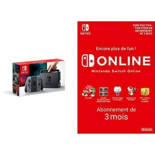 Console Nintendo Switch avec paire de Joy-Con : gris + Switch Online 3 Mois [Download Code] (B07MDGRCSB)   Amazon price tracker / tracking, Amazon price history charts, Amazon price watches, Amazon price drop alerts