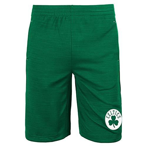 Outerstuff NBA Big Boys Youth (8-20) Free Throw Shorts, Boston Celtics Medium (10-12)