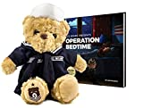 ZZZ Bears Military, Police and Fireman Teddy Bears Plush Toys to Honor, Protect and Cuddle at Bedtime (Navy Crackerjack Uniform)