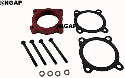 Red Billet Throttle Body Spacer For 04 5.6L Titan outlet Armada 04-14 Max 79% OFF