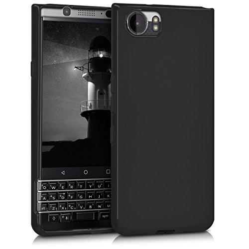 kwmobile Hülle kompatibel mit BlackBerry KEYone (Key1) - Handyhülle - Handy Case in Schwarz matt