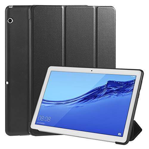 MDYHMC YXCY AYDD - Funda de piel sintética para Huawei MediaPad T5 de 10 pulgadas (3 plegables)