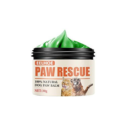 K-Park Cera per zampa di cane Balsamo per cera per zampe per cani Crema per la cura delle zampe per animali domestici Olio per la protezione del piede per animali domestici fun
