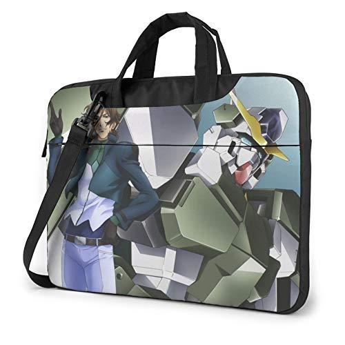 13 inch Laptop Sleeve Bag, Gun-Dam Tablet Briefcase Ultra Portable Protective Shoulder Shockproof Laptop Canvas Cover MacBook Pro