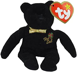 TY McDonald's Teenie Beanie - THE END Bear (2000) (5 inch)
