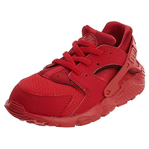 Nike Nike Unisex Kinder Huarache Run (TD) Sneaker, Universitäts-Rot, 21 EU