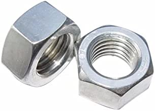 2pcs M14 x 1.5mm Pitch Stainless Steel Left Hand Fine Thread Hex Nut Metric ABBOTT