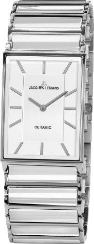 Jacques Lemans Damen-Armbanduhr XS Analog Quarz Keramik 1-1594E