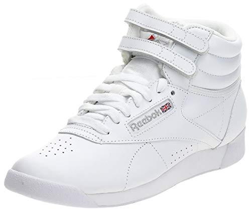 Reebok Freestyle Hi, Baskets Hautes Femme, Blanc...