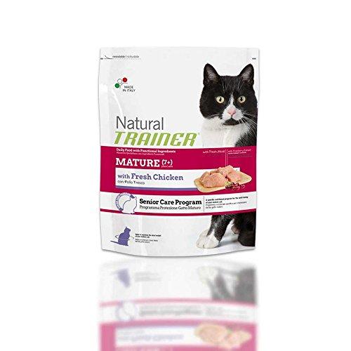 Natural Trainer Cat Food Trainer Natural avec Poulet Frais Mature 1,5 kg - Aliments secs pour Chats, Multicolores, Unique