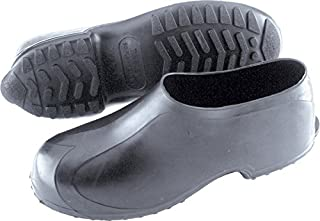 Tingley Men's High Top Work Rubber Stretch Overshoe,Black,XL(11-12.5 US Mens)