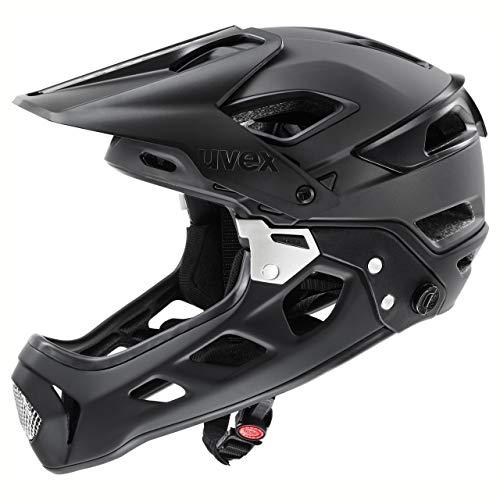 uvex jakkyl HDE 2.0 Boa, Casco Bicicletta Unisex-Adult, Black Mat, 52-57 cm